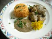 Hähnchenbrust in Champignon-Creme - Rezept