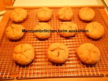 Marzipan- Brötchen - Rezept