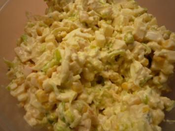 Apfel-Lauch Salat - Rezept