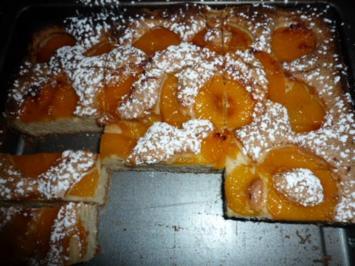 Pfirsich Becher Kuchen - Rezept
