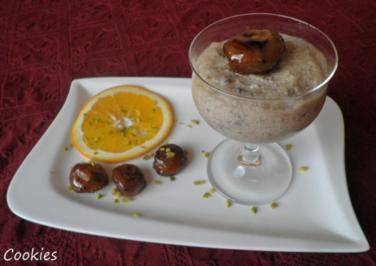 Mousse di castagne - Rezept