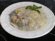 Rahmblättle ein Kartoffeleintopf - Rezept