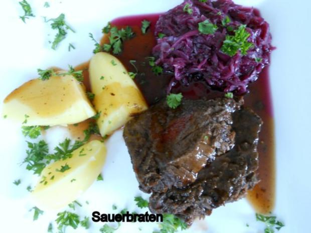 Sauerbraten Rheinische Art - Rezept