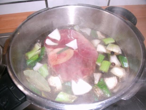 Rindfleischsalat aus der Beinscheibe - Rezept - Bild Nr. 3