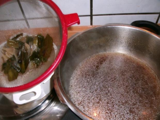 Rindfleischsalat aus der Beinscheibe - Rezept - Bild Nr. 6
