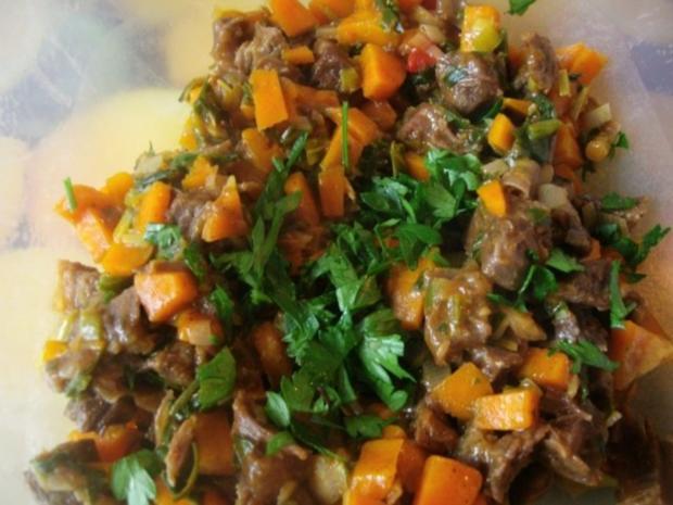Rindfleischsalat aus der Beinscheibe - Rezept - Bild Nr. 13
