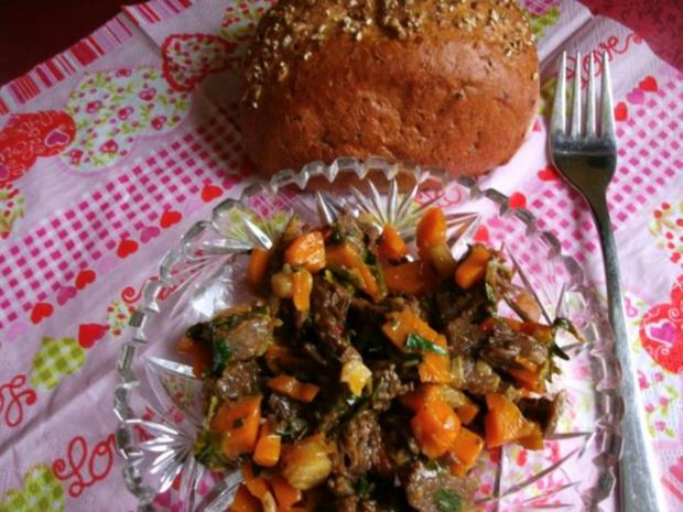 Rindfleischsalat aus der Beinscheibe - Rezept - Bild Nr. 15