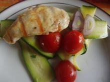 gegrillte Hähnchenschnitzel - Rezept