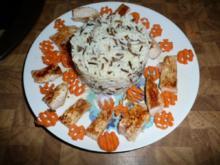 Puten-schnitzel an Wildreis & Karotte - Rezept