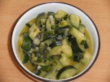Beilage: Zucchinigemüse - Rezept