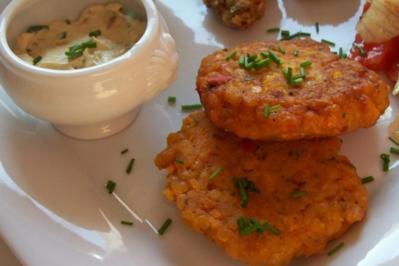 Vegetarische Küche: Scharfe Linsen-Möhren-Bratlinge - Rezept