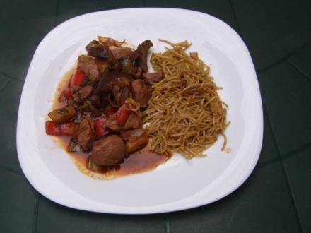 Hühnchen Asiastyle - Rezept