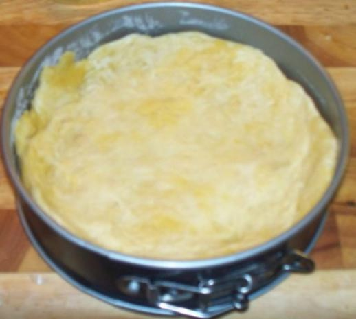 Speck-Zwiebel-Käsekuchen - Einzelportion - Rezept - Bild Nr. 5