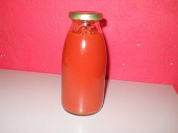 Tomatenketchup HOT - Rezept