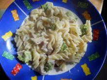 Brokkoli- Schinken-Nudeln - Rezept