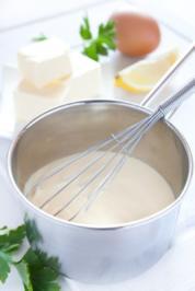 Hollandaise (aufgeschlagene Sauce) - Rezept