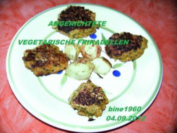 VEGETARISCHE   FRIKADELLEN - Rezept
