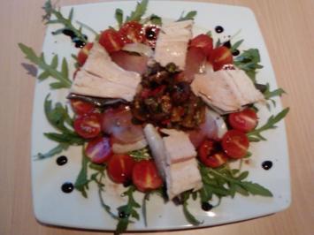"""Rezept: """"Salat mit dem besten aus Südost""""  - """"Mein Lieblingssalat aus BaWü, Allgäu und Russia"""""""
