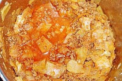 Geplatzte  Kohlroulade - Rezept