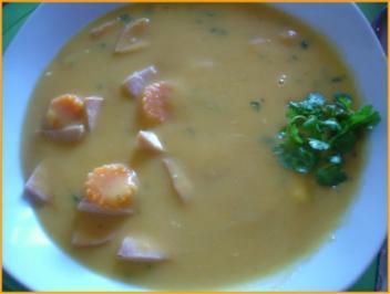 Möhren-Kartoffel-Cremesuppe - Rezept