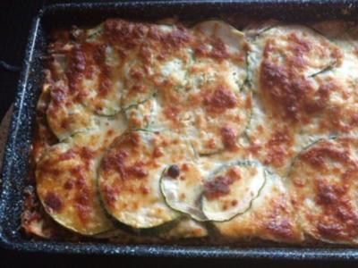 Zucchini Lasagne - Rezept
