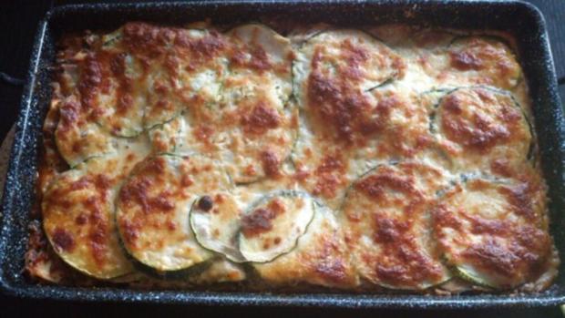zucchini lasagne rezept mit bild. Black Bedroom Furniture Sets. Home Design Ideas