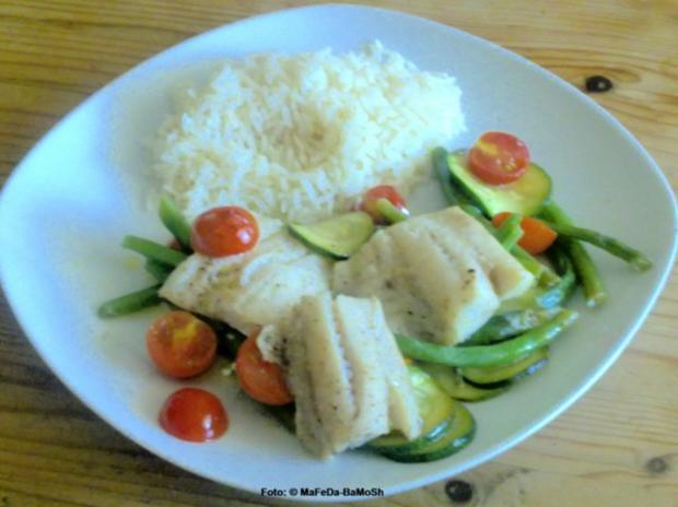Fischauflauf auf buntem Gemüse - Rezept - Bild Nr. 3