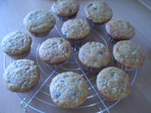 Schoki-Bananen-Muffins - Rezept