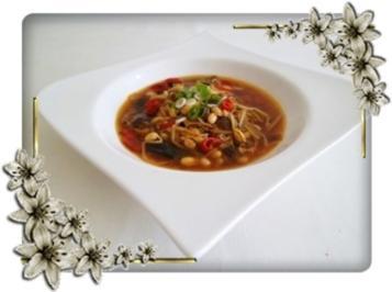 ❀ Chinesische Suppe extra scharf  ❀ - Rezept