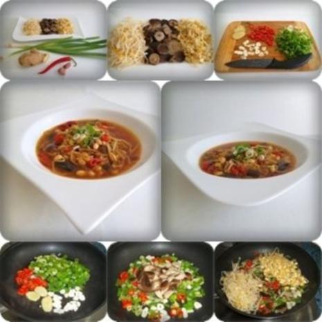 ❀ Chinesische Suppe extra scharf  ❀ - Rezept - Bild Nr. 2