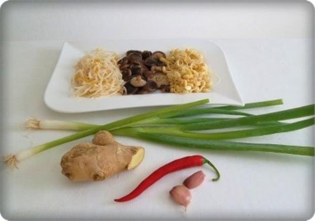 ❀ Chinesische Suppe extra scharf  ❀ - Rezept - Bild Nr. 3