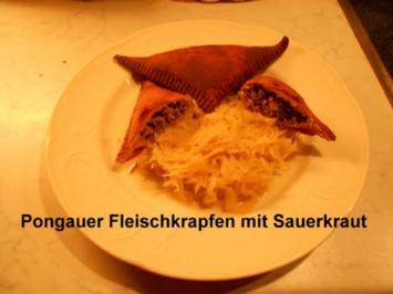 Pongauer Fleischkrapfen - Rezept