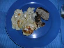 Frikadellen mit Kartoffelgemüse - Rezept