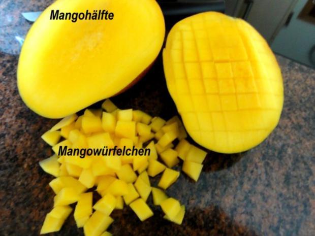Muffin:   MANGOMUFFIN mit Mandelglasur - Rezept - Bild Nr. 2