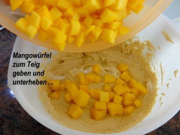 Muffin:   MANGOMUFFIN mit Mandelglasur - Rezept - Bild Nr. 5
