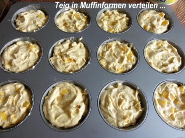 Muffin:   MANGOMUFFIN mit Mandelglasur - Rezept - Bild Nr. 6
