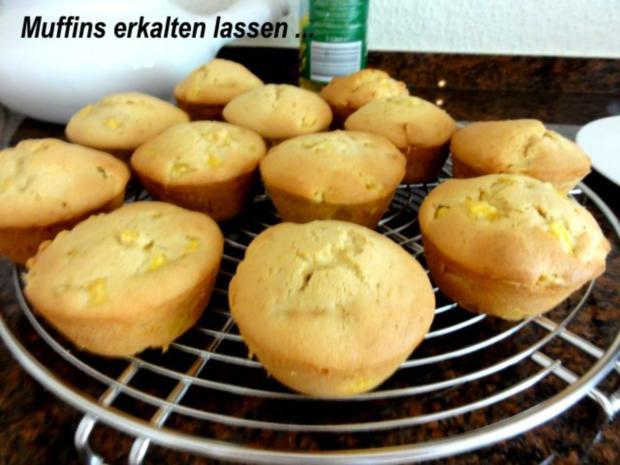 Muffin:   MANGOMUFFIN mit Mandelglasur - Rezept - Bild Nr. 7