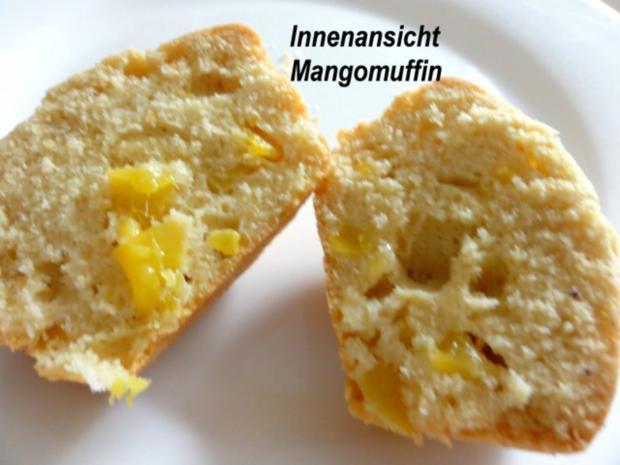 Muffin:   MANGOMUFFIN mit Mandelglasur - Rezept - Bild Nr. 8