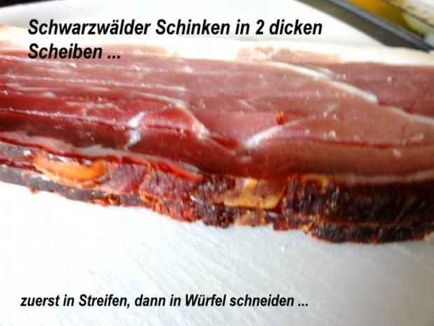 Kartoffel:   KNÖDELSTIFTE mit Schinken + Ei - Rezept - Bild Nr. 2