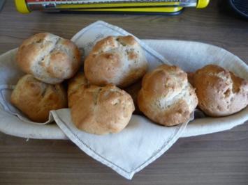 Brot & Brötchen : Schnelle Quarkbrötchen - Rezept