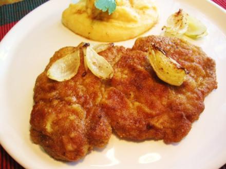 Nacken-Schnitzel ... - Rezept