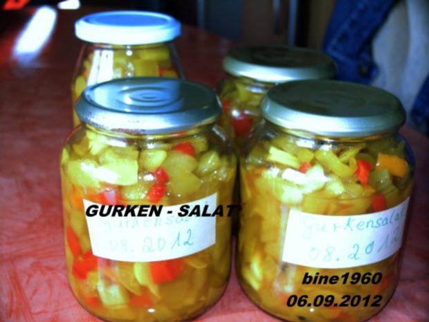 ENGEMACHTER   GURKENSALAT - Rezept