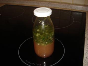 Salatdressing mit Himbeeressig - Rezept