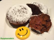 Muffin:   SCHOKOLADE-KIRSCH mit einem Hauch Chilli - Rezept