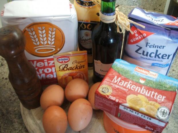 Backen: Marmorkuchen mit Hicks - Rezept - Bild Nr. 2
