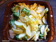 Kartoffel-Zucchini-Broccoli Gratin - Rezept