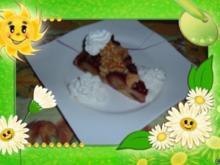 Kuchen : Pflaumen mit Amaretto und Schoki - Rezept
