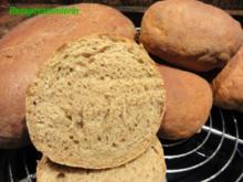 Brot:   ROGGENBROT + BRÖTCHEN selber backen - Rezept