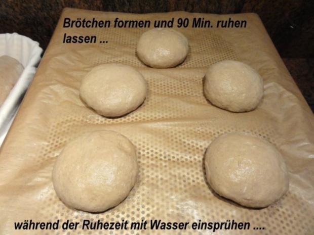Brot:   ROGGENBROT + BRÖTCHEN selber backen - Rezept - Bild Nr. 4