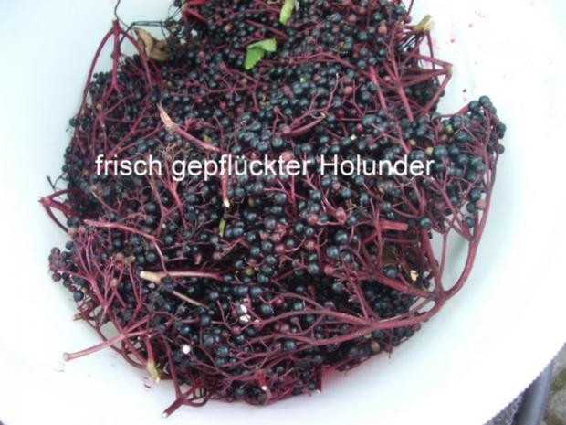 Holunderbeeren -Variationen - Rezept - Bild Nr. 2